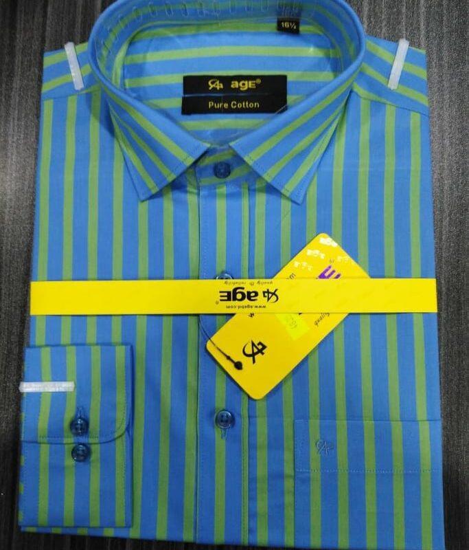 Export Quality Men's Full Sleeve Formal Shirt Cotton