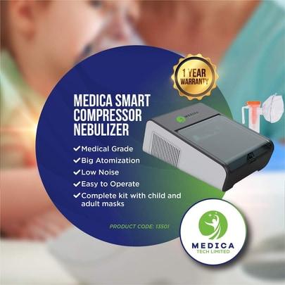 Smart Compressor Nebulizer; Medica Model 13501