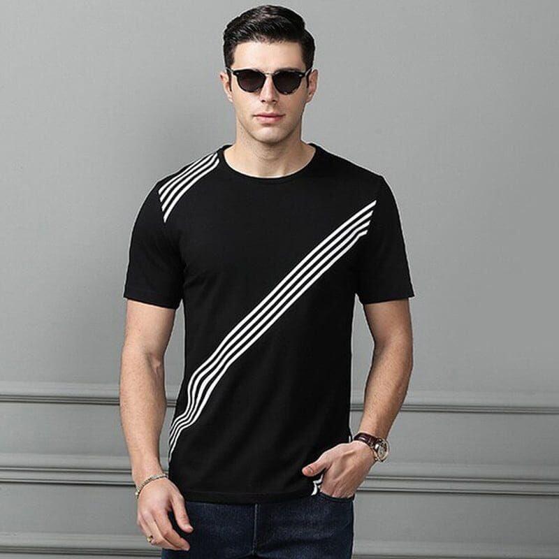 Men's Premium Quality Half Sleeve T-shirt;