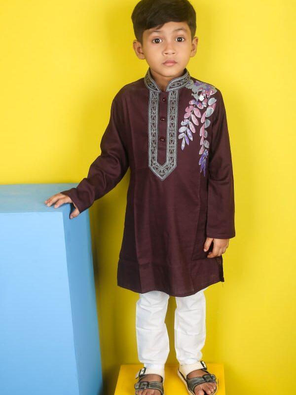 Exclusive Indian Cotton Panjabi For Kids