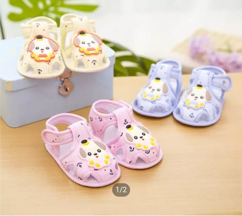 Summer Baptism Shoes for New born Baby Boy